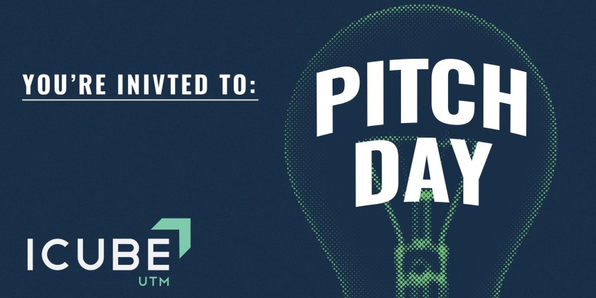 ICUBE PitchDay Banner blue