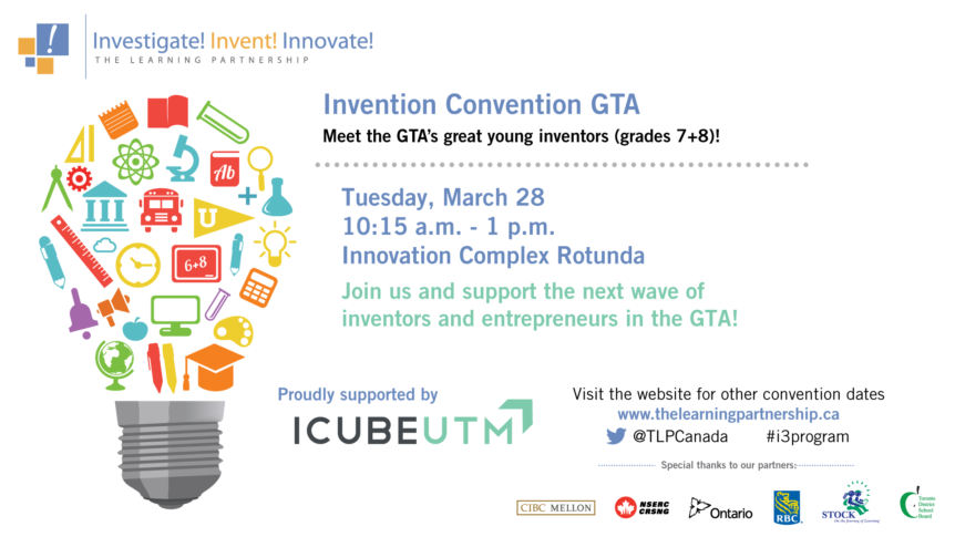 Invention Convention - ICUBE UTM - Banner