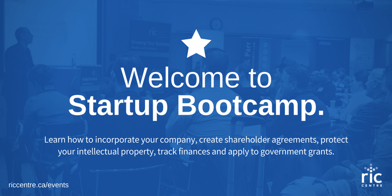 RIC Centre Startup Boot Camp