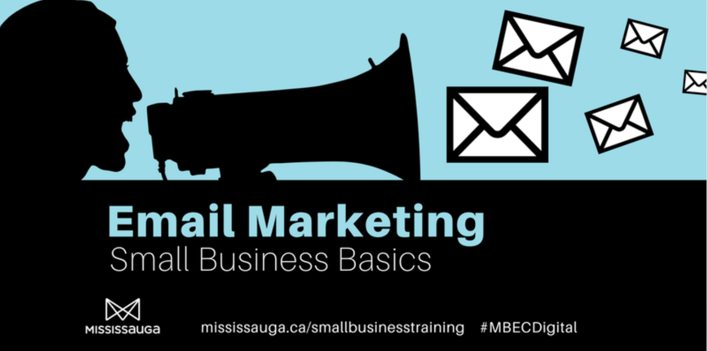 Email Marketing 101 - Small Business Basics @ Noel Ryan Auditorium, Central Public Library | Mississauga | Ontario | Canada