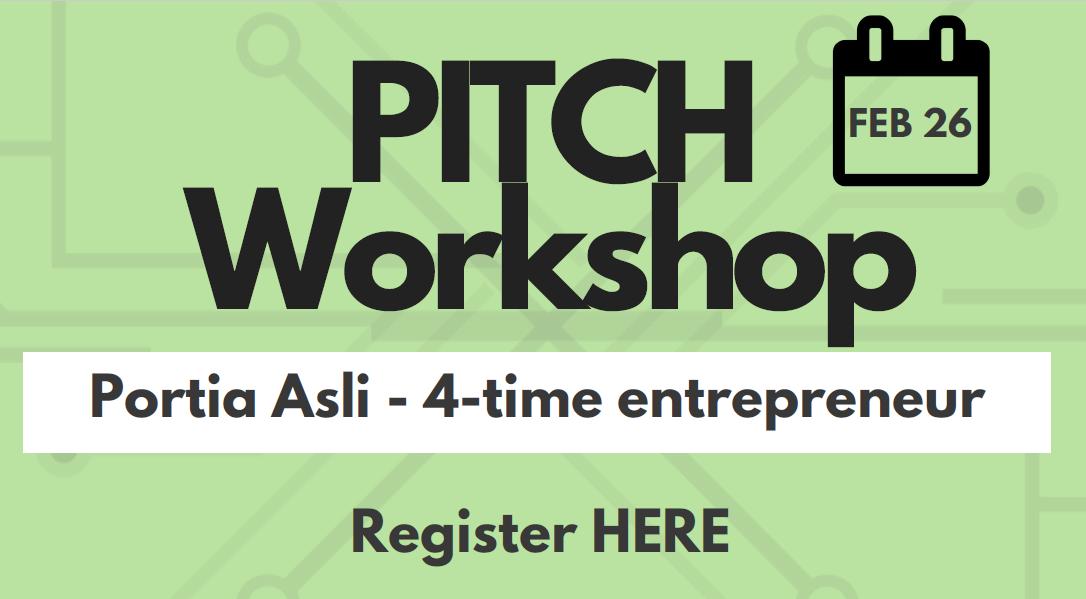 PITCH workshop @ ICUBE Co-Working Space(Basement of Kaneff Centre)