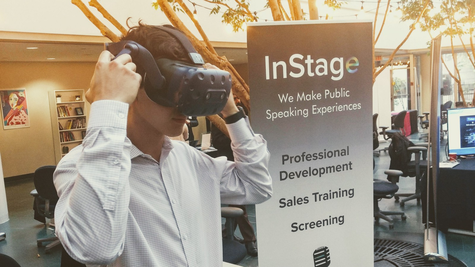 InStage VR Pitch Practice @ ICUBE Co-Working Space