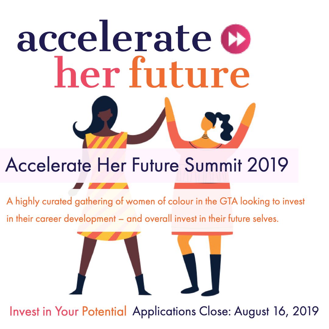 Accelerate Her Future Summit 2019 @ OnRamp - University of Toronto