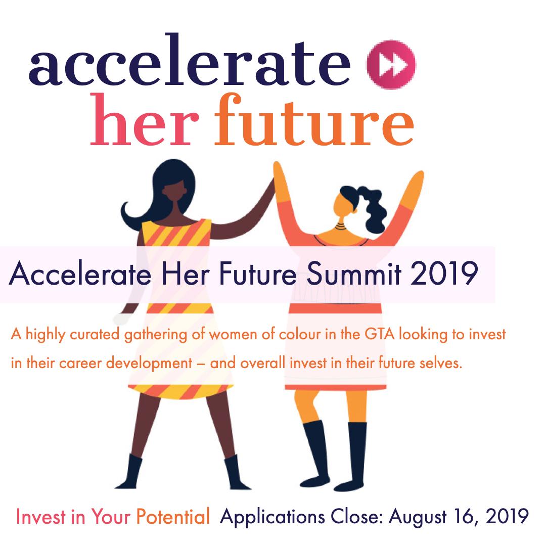 Accelerate Her Future Summit 2019 @ OnRamp - University of Toronto